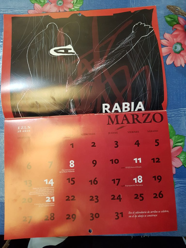 Zapatisktisk kalender